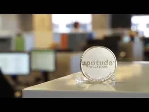 aptitude one year anniversary