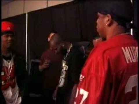 DMX vs Jay-Z Backstage Hard Knock Life Tour Freestyle