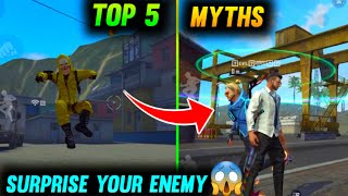 Top 6 Amazing Myths In Free Fire #8