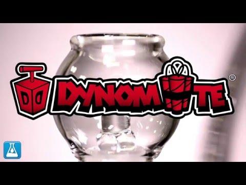 Dynomite Glass 50mm Showerhead Dab Rig