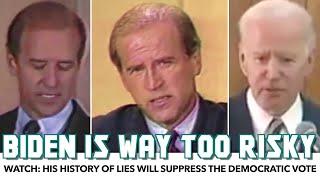 WATCH: Joe Biden's History Of Lies Is Too Risky For Democrats