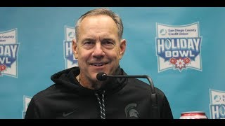 Mark Dantonio & Players Post Holiday Bowl.