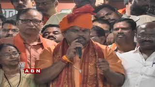 Raja Singh the only BJP Man won in Telangana Speaks..