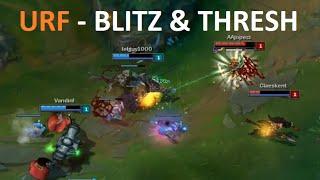 URF - Blitz & Thresh Montage