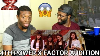 4th Power raise the roof with Jessie J hit | Auditions Week 1 | The X Factor UK 2015 (REACTION)