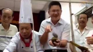 2016.05.31挑战金氏记录巨无霸八宝鲭鱼养生粽公开亮相
