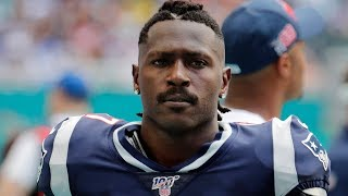 Patriots Release Antonio Brown!