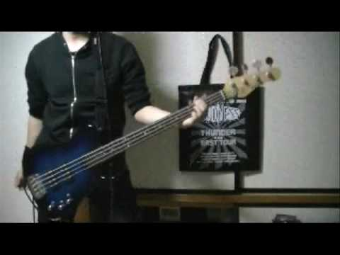 Crazy night (LOUDNESS) Bass cover