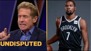 UNDISPUTED | Skip Bayless reacts to KD scores 33 Pts off bench in return as Nets beat Suns 128-119