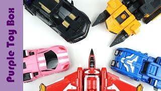 미니특공대X 변신 모음, 레이봇 볼트봇 세미봇 루시봇 맥스봇 Mini Force X Car Robot Transfo