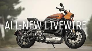 Harley Davidson LiveWire : la moto électrique en vidéo