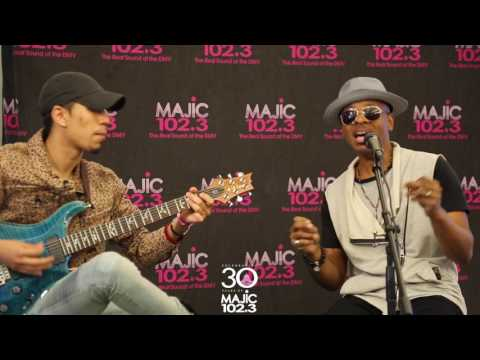 Majic Live Sessions: Stokley Williams Of Mint Condition Sings