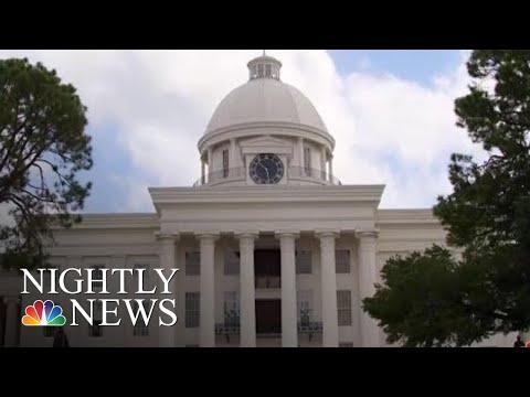 Alabama Senate Divided Over Nation's Strictest Abortion Bill | NBC Nightly News