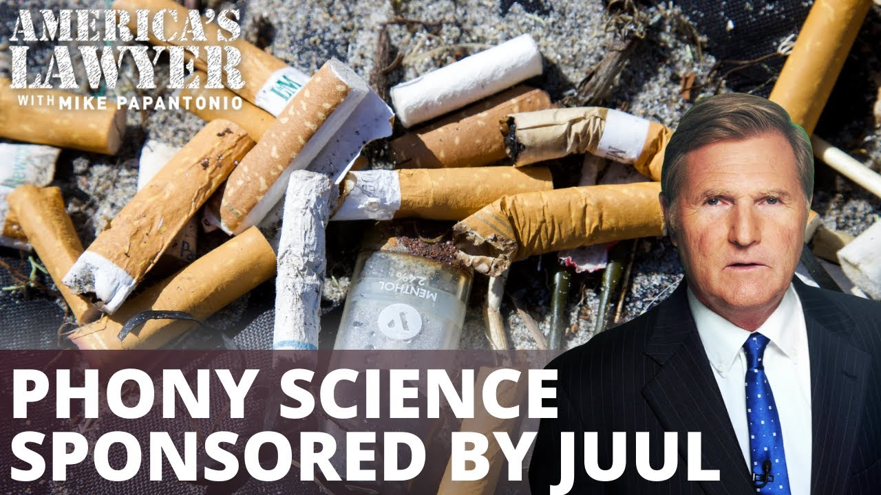 Juul Paid $50K For Phony Science