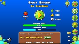 Baby Shark! - Epic Unrated Level! [Geometry Dash 2.1]