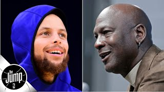 Were Michael Jordan's Stephen Curry comments a shot at Steph, or MJ being MJ? | The Jump