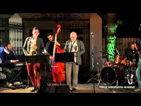 Profesores Aula de Jazz, Teror Saxophone Academy 2013