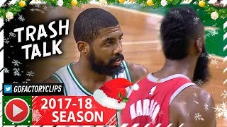 Kyrie Irving vs James Harden MVP Duel Highlights (2017.12.28) Celtics vs Rockets - TOO SICK!