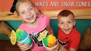 Snow Cones & Amazing Wildflower Hike PLUS Family Fun Pack on the News!