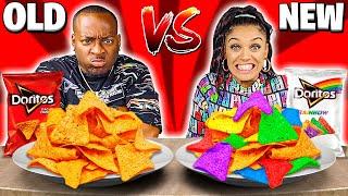 NEW VS OLD FOOD CHALLENGE!!