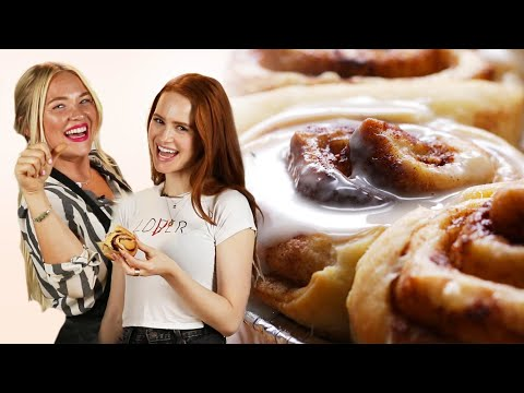 Alix Makes Cinnamon Rolls With Madelaine Petsch