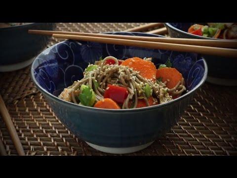 Asian Recipes - Soba Noodle Salad