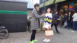 Trai xinh gái đẹp đánh nhau nơi công cộng ở Hàn Quốc