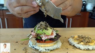 Lobster Sushi Rice Burger | Most Delicious Burger Ever