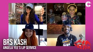 BRS Kash Talks The Story Behind Throat Baby + Shooting His Shot at Gigi on Angela Yee's Lip Service