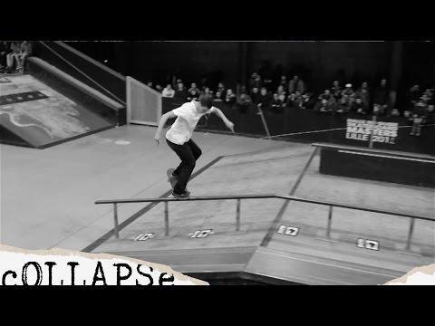 Video COLLAPSE Planche skate 7.875 LOGO BLOCK V3 Violet