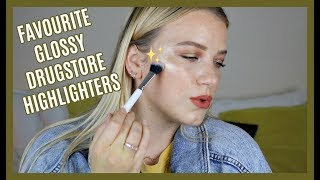 MY FAVOURITE GLOSSY DRUGSTORE HIGHLIGHTERS   KendraCus