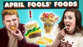 Adults Try April Fools' Food | People Vs. Food