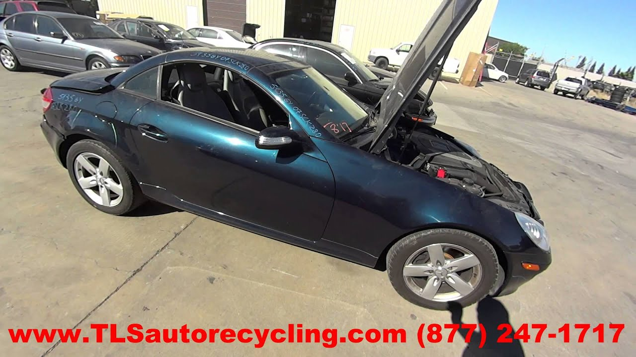 Parting Out 2007 Mercedes Slk280 Stock 5135gy Tls