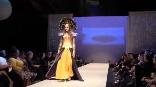 Paragon of Design by Skrocki Fantasy Fashion show at Western Canada Fashion Week.