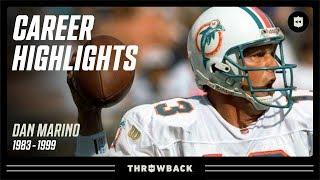 "Dan Marino's ""Quick Release"" Career Highlights! | NFL Legends"