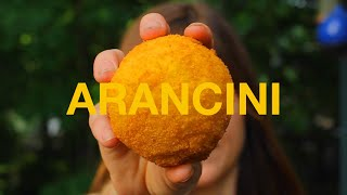 Making of & The History of Arancini