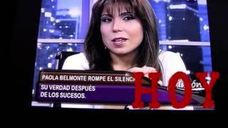 Paola Belmonte dice su verdad sobre el video