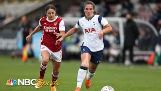 Women's Super League: Arsenal v. Tottenham | EXTENDED HIGHLIGHTS | NBC Sports
