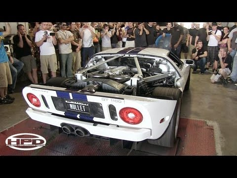 Ford GT - Twin Turbo, Supercharged & Nitrous - 1140rwhp - TX2K12
