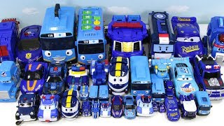 Little Busta Tayo Robocar Poli.Robot Train Evankings.Evan.Helocabot Trent Foremer Dame the Blue Car