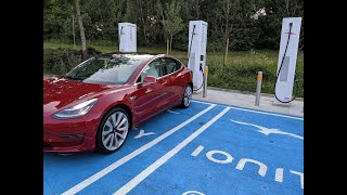 Tesla Model 3 - The fastest charging electric car in the world
