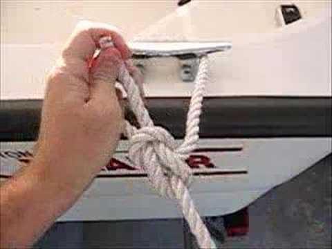 Как привязать лодку
