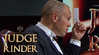 Woman Nearly Has Her Case Thrown Out | Judge Rinder