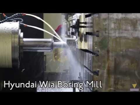 Hyundai Wia Boring Mill