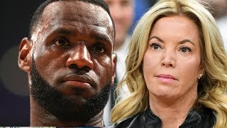 Lakers Owner Jeanie Buss Almost TRADED LeBron James Because She Was ANGRY At Agent Rich Paul!
