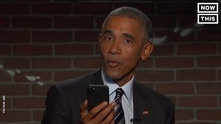 President Obama Reads Mean Tweets Again | NowThis