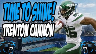 Carolina Panthers Sign RB Trenton Cannon