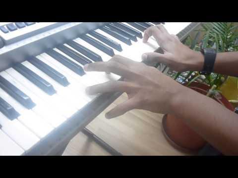 como tocar tumbao para (coros pentecostales) facil para teclado.... David Jonathan.