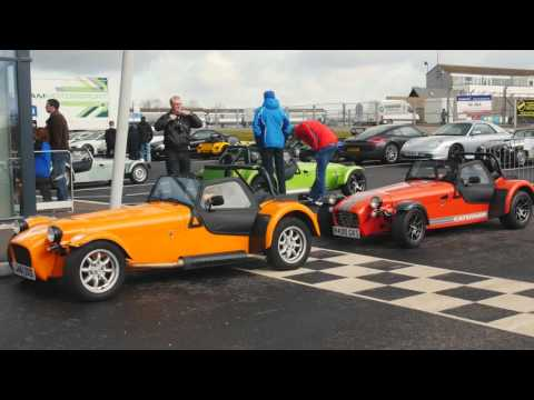 BookaTrack Caterham Showroom Launch