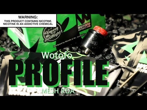 video Wotofo X Mr.justright1 Profile 24mm Bf Rda